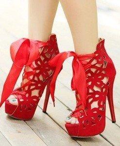 CH2252-3 Sandale elegante cu snur in fata - Sandale dama - Incaltaminte > Incaltaminte Femei > Sandale dama
