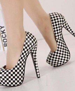 CH2294-1122 Pantofi cu platforma si model - Pantofi Dama - Incaltaminte > Incaltaminte Femei > Pantofi Dama