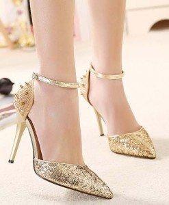CH2302-7 Sandale elegante accesorizate