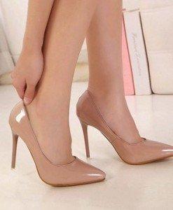 CH2308-15 Pantofi eleganti cu varf ascutit si toc subtire - Pantofi Dama - Incaltaminte > Incaltaminte Femei > Pantofi Dama