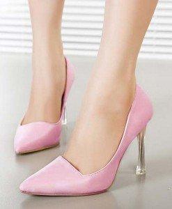 CH2326-5 Pantofi office cu varf ascutit si toc inalt - Pantofi Dama - Incaltaminte > Incaltaminte Femei > Pantofi Dama