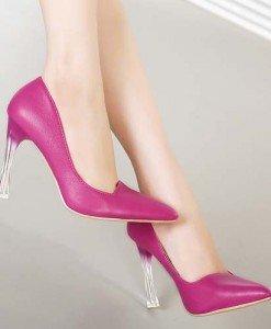 CH2326-55 Pantofi office cu varf ascutit si toc inalt - Pantofi Dama - Incaltaminte > Incaltaminte Femei > Pantofi Dama