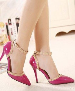 CH2327-55 Sandale stiletto elegante