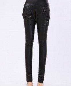 CL449-1 Colanti din latex cu talie inalta - Colanti - Haine > Haine Femei > Costume latex si PVC > Colanti
