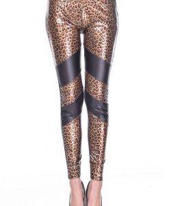 CL451-99 Colanti din vinil model animal print - Colanti - Haine > Haine Femei > Costume latex si PVC > Colanti