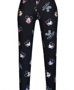 CL474-1 Pantaloni sport cu model Mickey Mouse - Colanti - Haine > Haine Femei > Pantaloni Dama > Colanti