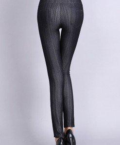 CL483-1 Colanti tip leggings cu buzunare la spate - Colanti - Haine > Haine Femei > Pantaloni Dama > Colanti