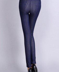 CL483-4 Colanti tip leggings cu buzunare la spate - Colanti - Haine > Haine Femei > Pantaloni Dama > Colanti