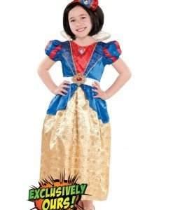 CLD106 Costum Alba ca Zapada copii - Costume tematice - Haine > Haine Copii > Costume tematice