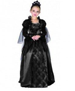 CLD7-1 Costum Halloween copii - Regina neagra - Costume tematice - Haine > Haine Copii > Costume tematice