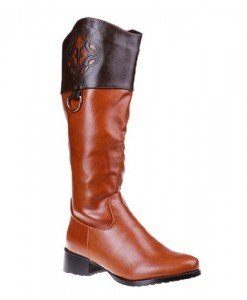 Cizme Clementine camel/maro - Home > SOld OUT -