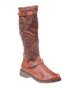 Cizme Gloria camel - Home > SOld OUT -