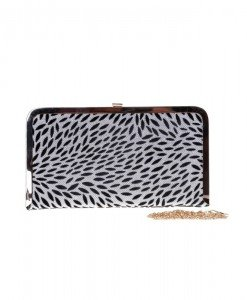 Clutch animal print Sawsan - Home > Genti -