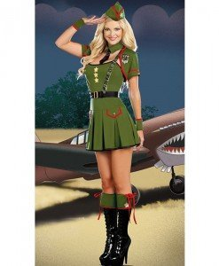 D256 Costum tematic army - Armata - Marinar - Haine > Haine Femei > Costume Tematice > Armata - Marinar