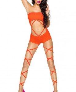 E347-19 Costum de animatie accesorizat cu snur - Lenjerie body - Haine > Haine Femei > Lenjerie intima > Lenjerie body