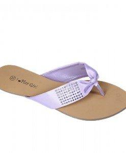 Flip-flops mov Karli - Home > Sandale -