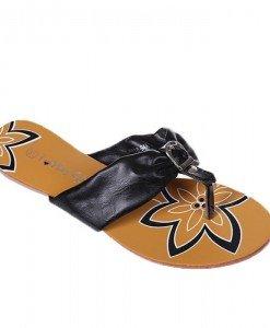 Flip-flops negre Rosa - Home > Reduceri -