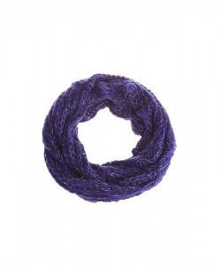 Fular circular Goldya purple - Genti > Fulare -