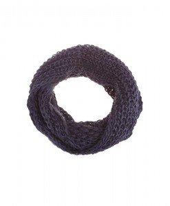 Fular circular Macya dark grey - Genti > Accesorii -