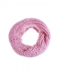 Fular circular Macya pink - Genti > Accesorii -