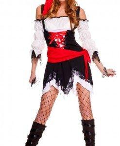 J221 Costum tematic pirat - Pirat - Haine > Haine Femei > Costume Tematice > Pirat