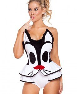 J434-211 Costum tematic pisicuta - Costume Animatie - Haine > Haine Femei > Costume Animatie