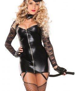 K419-1 Costum tematic felina - Feline - Haine > Haine Femei > Costume Tematice > Animalute > Feline