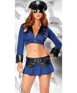 M58 Costum tematic politista - Politista - Gangster - Haine > Haine Femei > Costume Tematice > Politista - Gangster