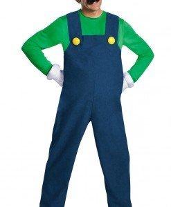 MAN39-12 Costum Halloween Luigi - Costume Tematice - Haine > Haine Barbati > Costume Tematice