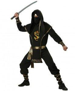 MAN49-1 Costum Halloween luptator ninja - Costume Tematice - Haine > Haine Barbati > Costume Tematice