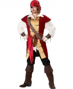 MAN50 Costum Halloween pirat - Costume Tematice - Haine > Haine Barbati > Costume Tematice