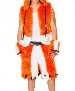 MAN58-219 Costum tematic Halloween pentru barbati - vulpe - Costume Tematice - Haine > Haine Barbati > Costume Tematice