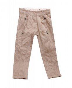 Pantaloni beige Floral - Home > Copii -