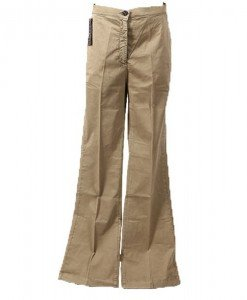 Pantaloni evazati Sisley - Home > Reduceri -