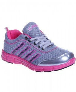 Pantof sport gri/rose Petra - Home > Reduceri -