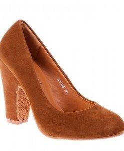 Pantofi Alyda camel - Home > Reduceri -