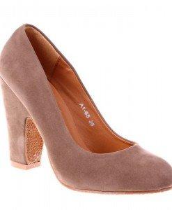 Pantofi Alyda khaki - Home > Pantofi -