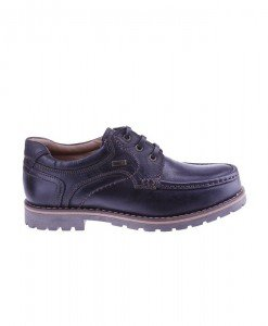 Pantofi Barbati piele Italia Geronimo black - Home > SOld OUT -