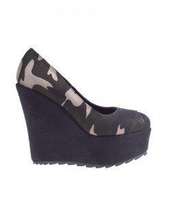 Pantofi Camo verde - Home > Pantofi -