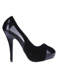 Pantofi Desire negri - Home > Pantofi -
