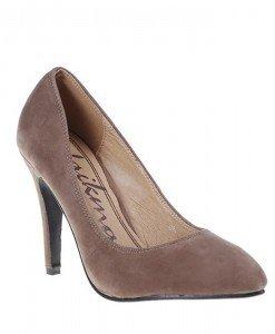 Pantofi Despina khaki - Home > SOld OUT -