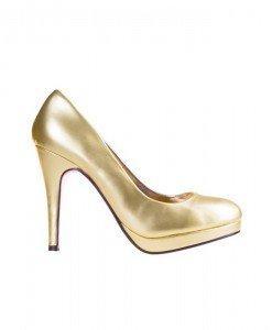 Pantofi Dunya gold - Home > Pantofi -