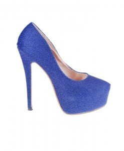 Pantofi Elmira albastri - Home > Pantofi -