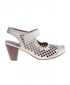 Pantofi Tip sandale beige Castielle - Home > Sandale -