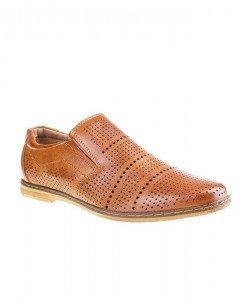 Pantofi barbati Paulie camel - Home > Barbati -