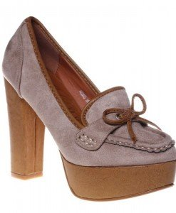 Pantofi beige Rachel - Home > Reduceri -