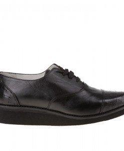 Pantofi casual din piele naturala Raquel - Home > Pantofi -