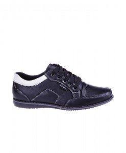 Pantofi copii Ferg black white - Home > Copii -