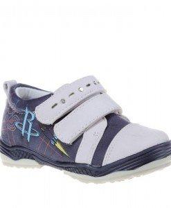 Pantofi copii Sonic beige/blue marimi 21-26 - Home > Copii -