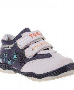 Pantofi copii Tom Tom beige /blue marimi 21-26 - Home > Copii -